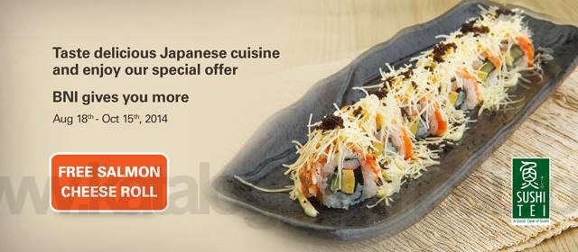 Promo Kartu Kredit BNI - Sushi Tei - CekAja.com