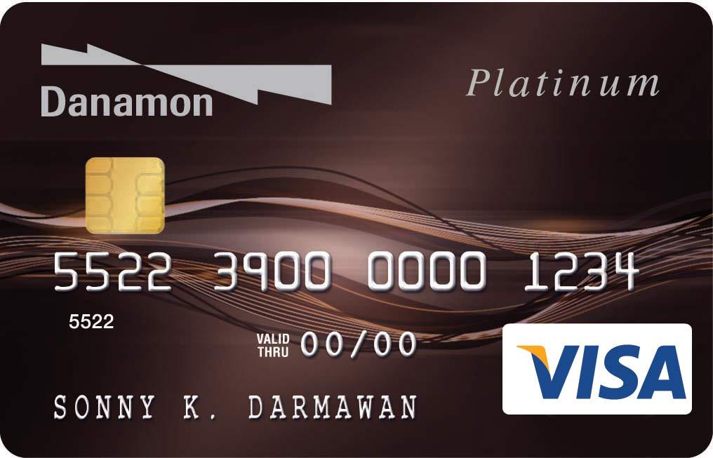 Danamon Visa Platinum - CekAja.com