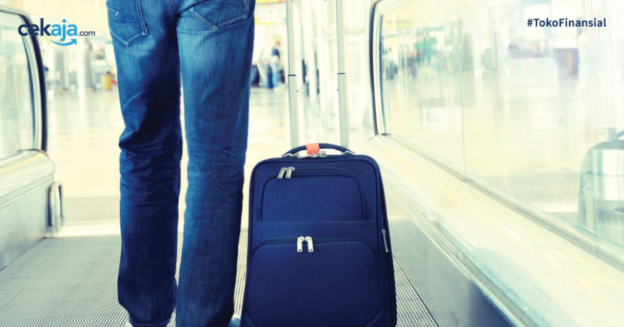 Tidak Perlu Takut Koper Dibobol di Bandara Jika Sudah Baca Tips Ini CekAja