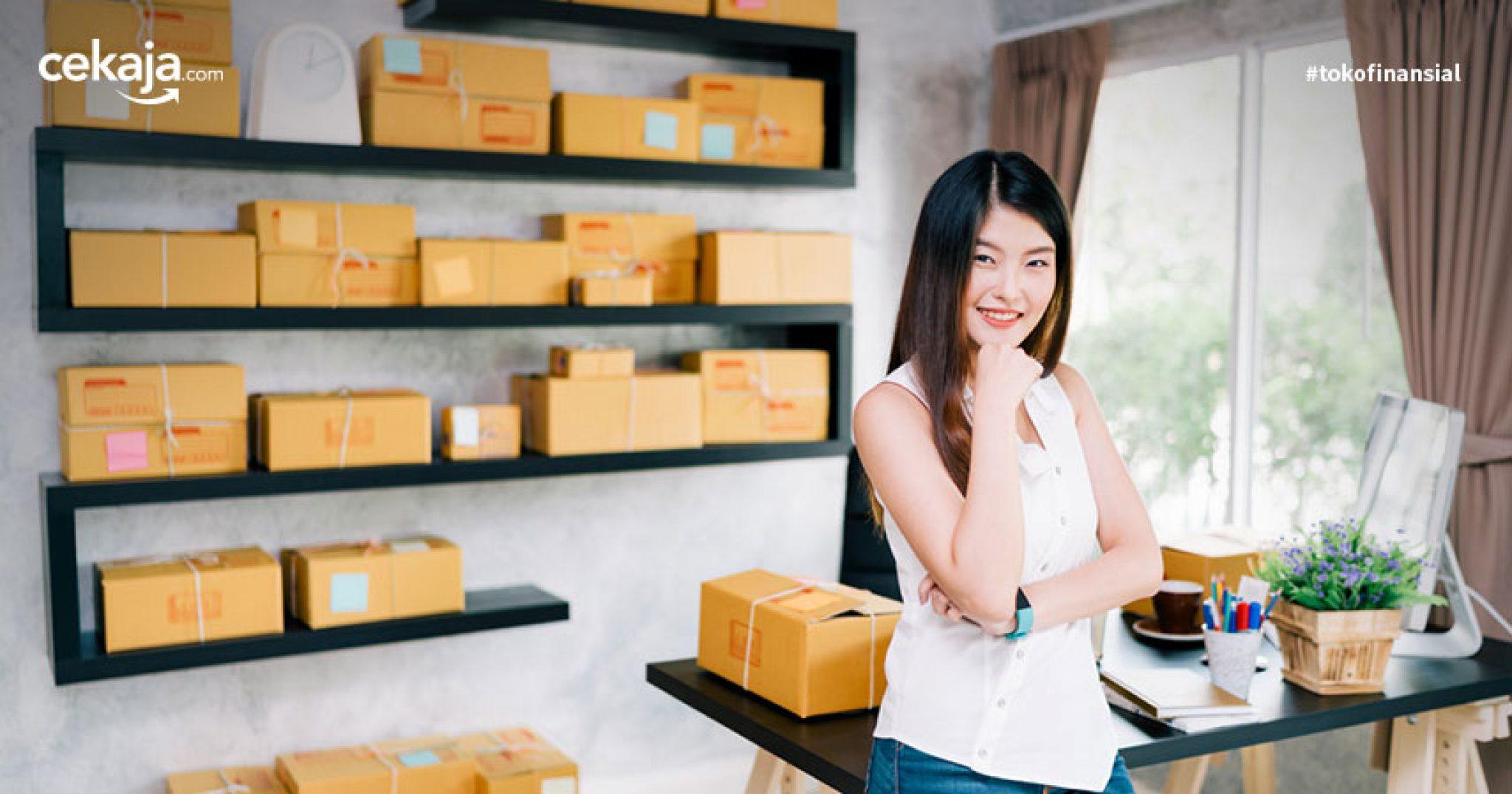 tips bisnis tanpa modal _ pinjaman usaha - CekAja.com