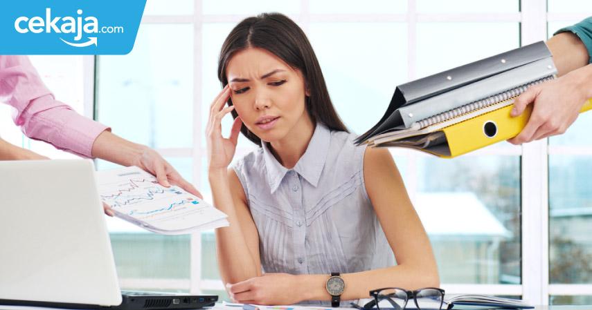 stres di kantor_kredit rumah kpr - CekAja.com