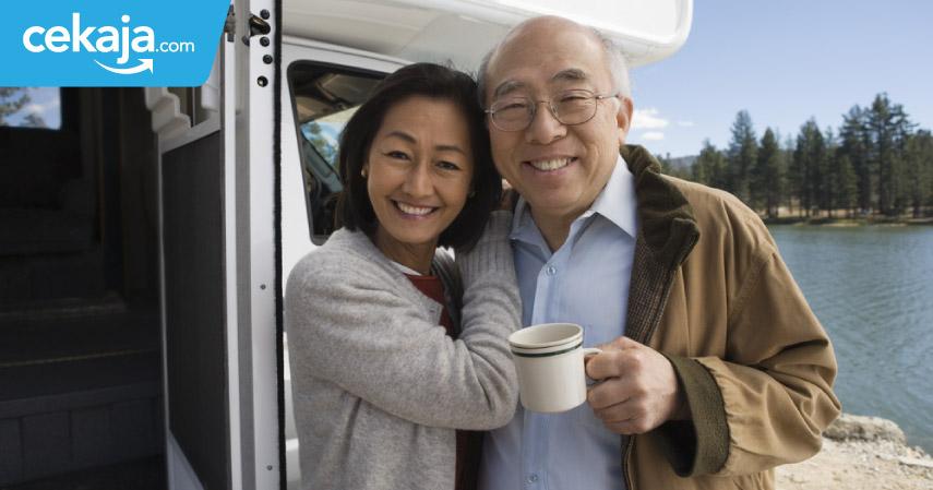 tips lebih kaya saat pensiun - CekAja.com