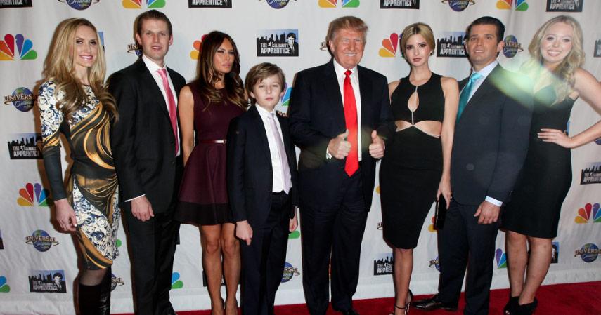 keluarga Trump - CekAja.com