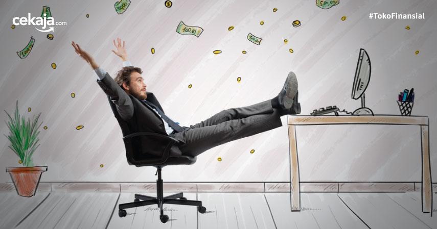 gaji jadi investasi - CekAja.com