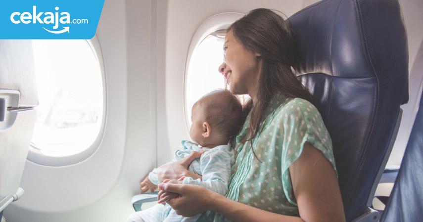 perlengkapan traveling bersama bayi - CekAja.com