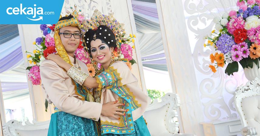 pernikahan adat dengan biaya termahal - CekAja.com