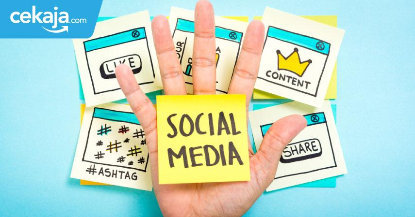 manfaat sosial media - CekAja.com
