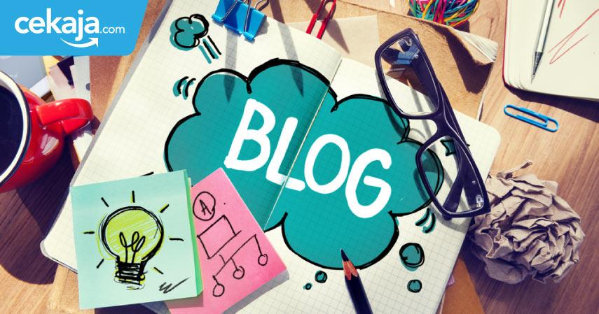 cara menghasilkan uang dari blog - CekAja.com