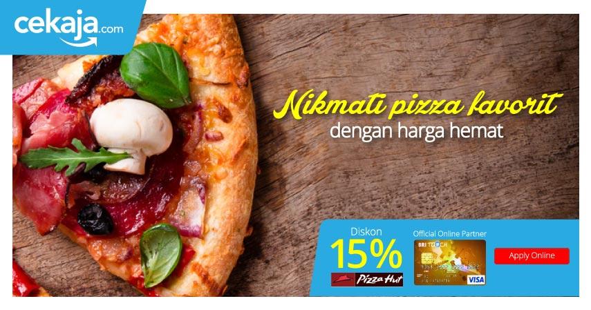 promo pizza hut kartu kredit bri - CekAja.com