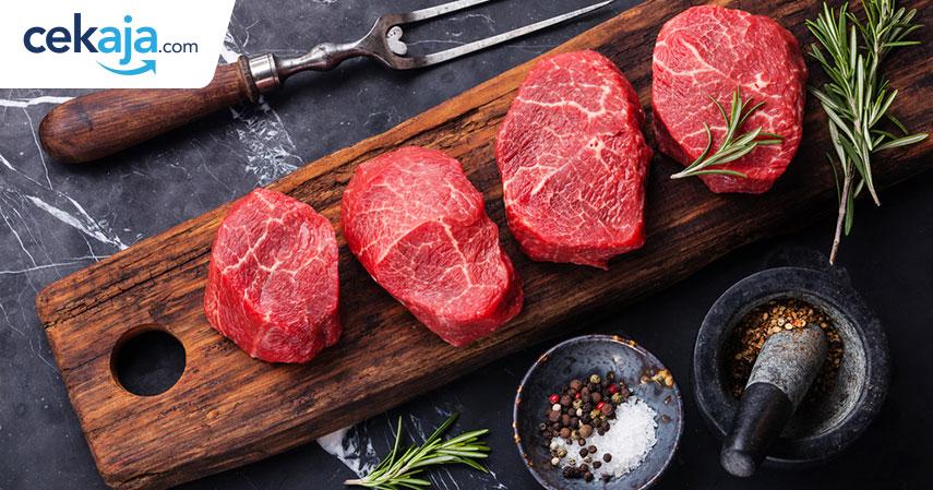 bahaya daging merah_asuransi kesehatan - CekAja.com
