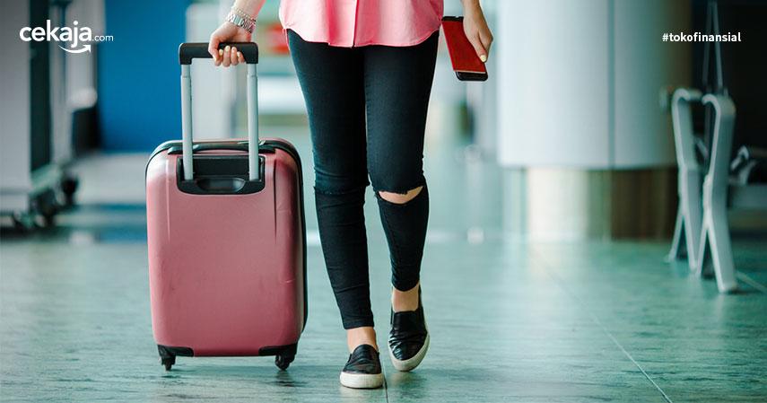 memilih koper untuk traveling _ asuransi perjalanan - CekAja.com
