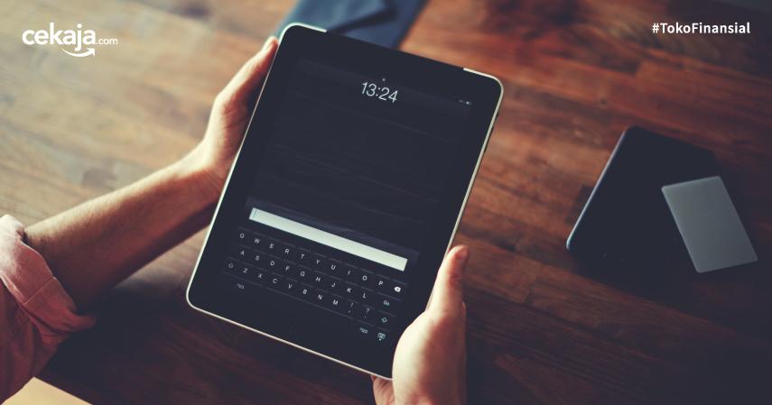 Artikel Newsletter CekAja iPad