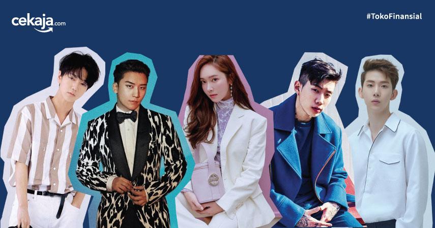 Bisnis Sampingan K-Pop Idol - CekAja