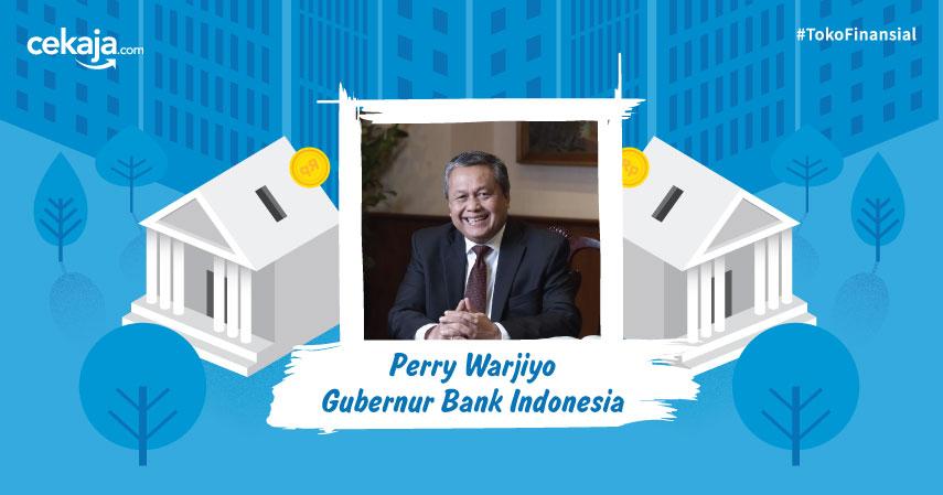 Gubernur Bank Indonesia Perry Warjiyo - CekAja