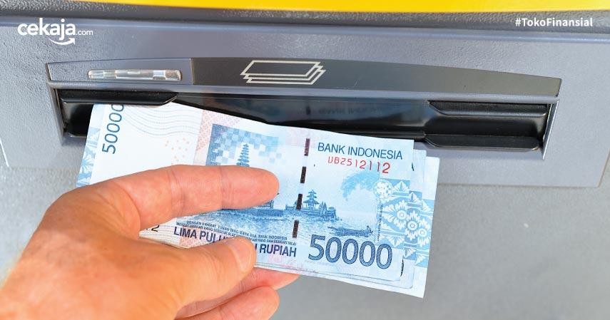 Tarik Tunai ATM - CekAja
