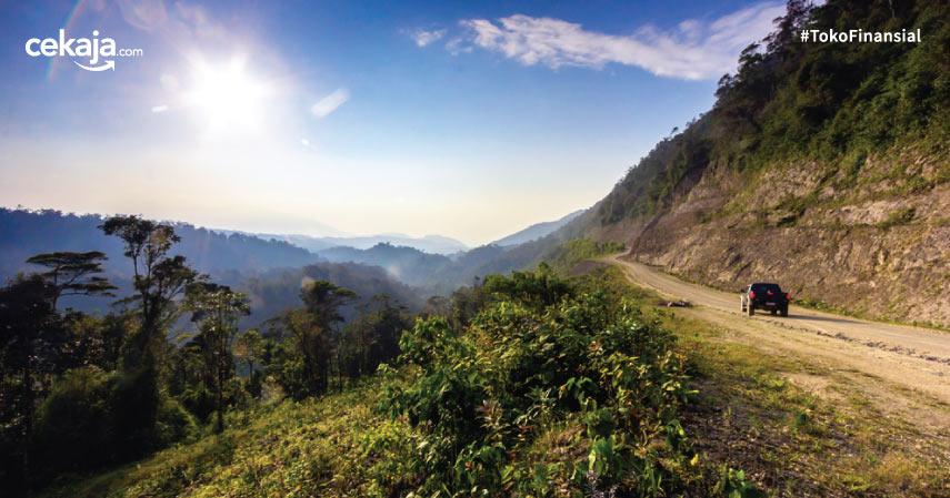 Jalan Pegunungan Trans Papua - CekAja