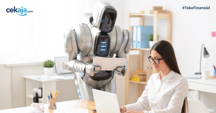 Robot Pekerja Perempuan - CekAja