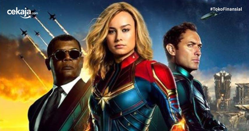 5 Alasan Mengapa Captain Marvel Layak jadi Panutan Perempuan!
